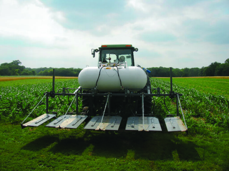 Managing Weeds with Propane-Powered Heat Technology